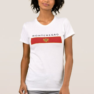 Montenegro country flag nation symbol T-Shirt
