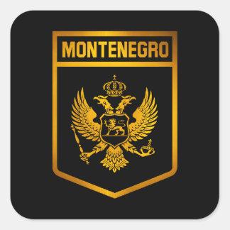 Montenegro Emblem Square Sticker