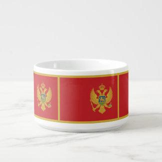 Montenegro Flag Bowl