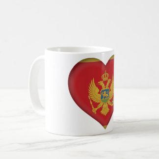 Montenegro Flag Coffee Mug