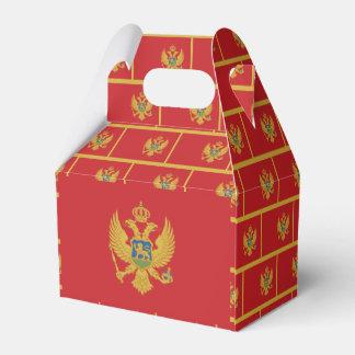Montenegro Flag Favor Box