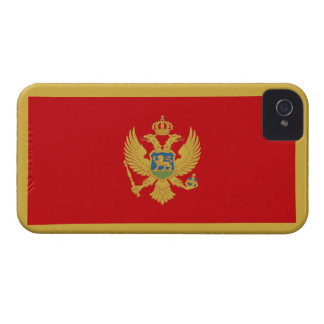 Montenegro Flag iPhone 4 Cover