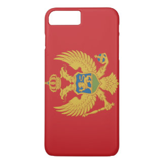 Montenegro Flag iPhone 8 Plus/7 Plus Case
