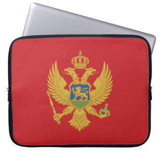 Montenegro Flag Laptop Sleeve