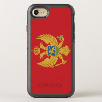 Montenegro Flag OtterBox Symmetry iPhone 8/7 Case