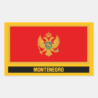 Montenegro Flag Sticker