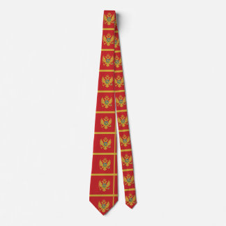 Montenegro Flag Tie