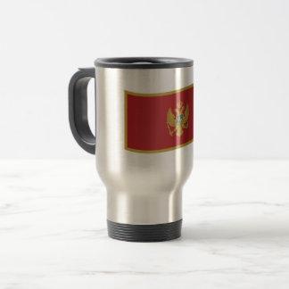 Montenegro Flag Travel Mug