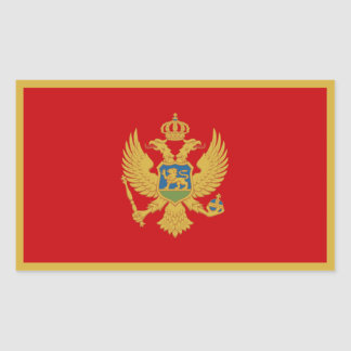 Montenegro/Montenegrin Flag Sticker