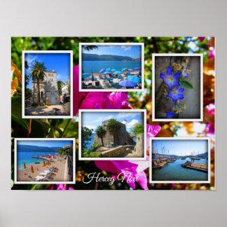 Montenegro Travel Collection – Herceg Novi Poster
