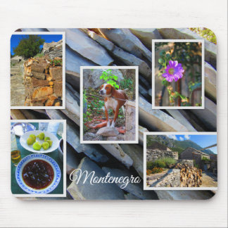 Montenegro Travel Collection Mouse Pad