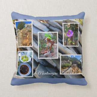 Montenegro Travel Collection Throw Pillow