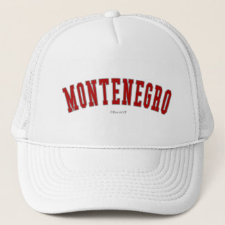 Montenegro Trucker Hat