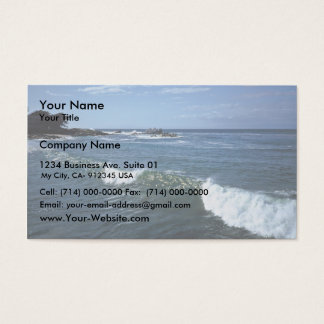 Monterey Bay, California Business Card