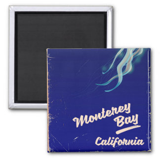 Monterey Bay California Jelly vintage travel Magnet