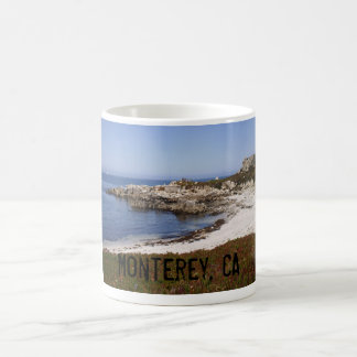 Monterey beach, CA Coffee Mug