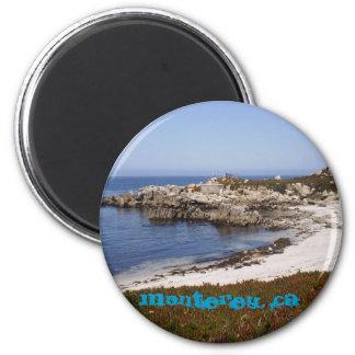 Monterey, CA 2 Inch Round Magnet