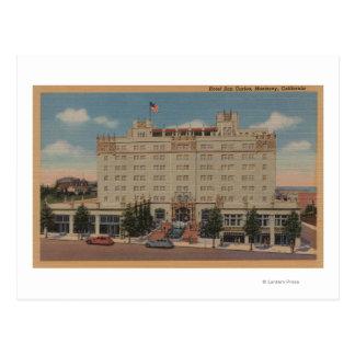 Monterey, CA - Hotel San Carlos View Postcard