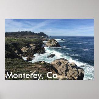Monterey, Ca Poster