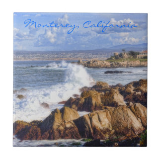 Monterey California Coast tile