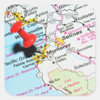 Monterey, California Square Sticker