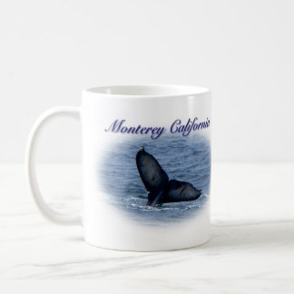 Monterey California Whale Tail Mug