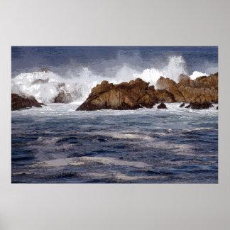 Monterey Coast Poster