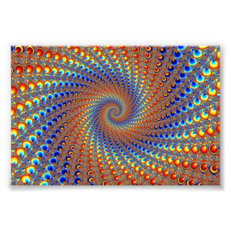 Monterey Fractal Art Photo Print