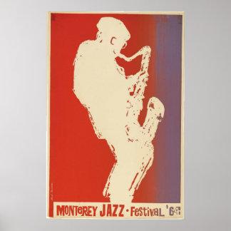 Monterey Jazz Festival Poster 1964