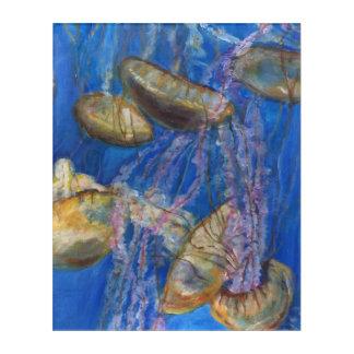 Monterey Jelly Fish Acrylic Wall Art