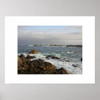 Monterey Ocean Print