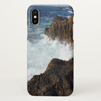 Monterey ocean splash iphone X case