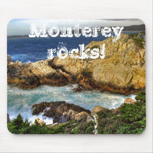 Monterey rocks! mousepads