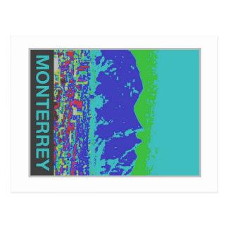 Monterrey, MX,Travel Poster Postcard-Vintage Style Postcard