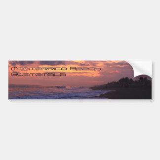 Monterrico Beach Bumper Sticker