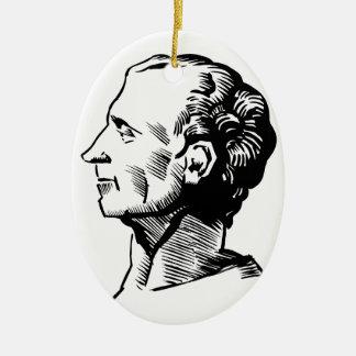 Montesquieu Ceramic Ornament
