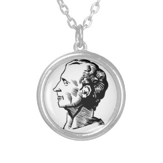 Montesquieu Silver Plated Necklace