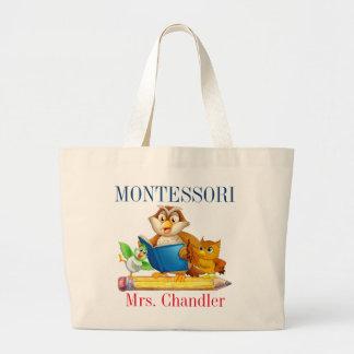 Montessori Cute Bird Teacher Tote Bag