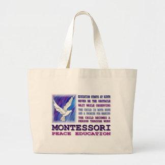 Montessori Dove Jumbo Tote Bag