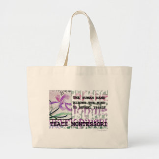 Montessori Iris Jumbo Tote Bag