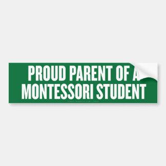 Montessori Parent Bumper Sticker
