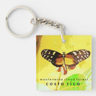 Monteverde Cloud Forest, Costa Rica Butterfly Keychain