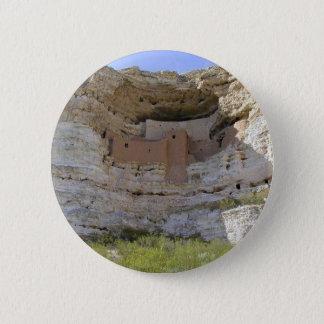 Montezuma Castle Cliff Indian 2 Inch Round Button