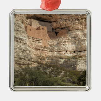 Montezuma Castle National Monument, Arizona Metal Ornament