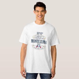 Montezuma, Iowa 150th Anniversary White T-Shirt