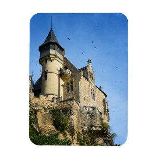 Montfort castle, Dordogne, France Magnet