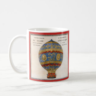 Montgolfier Brothers Hot Air Balloon Coffee Mug