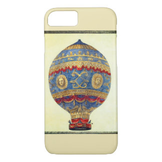 Montgolfier Brothers in the First Hot Air Balloon iPhone 7 Case