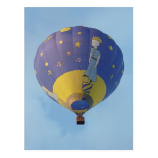 Montgolfier - Hot air balloon - Small Prince Postcard