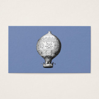 Montgolfier Vintage Hot Air Balloon Business Card